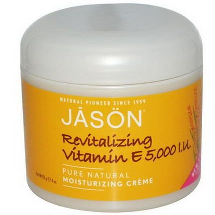 Jason Natural, Revitalizing Vitamin E, 5,000 IU 113g
