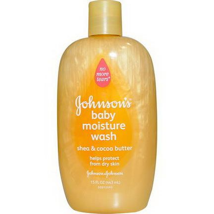 Johnson&Johnson, Baby Moisture Wash, Shea&Cocoa Butter 443ml