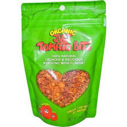Just Tomatoes Etc, Organic Just Tomato Bits 112g