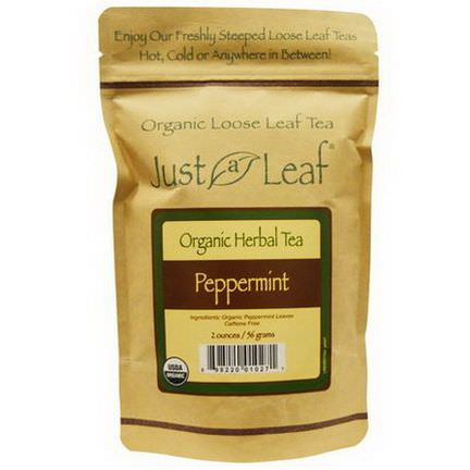 Just a Leaf Organic Tea, Peppermint 56g