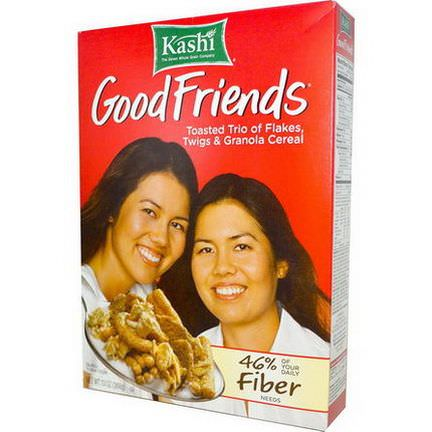 Kashi, Good Friends, Toasted Trio of Flakes, Twigs&Granola Cereal 368g
