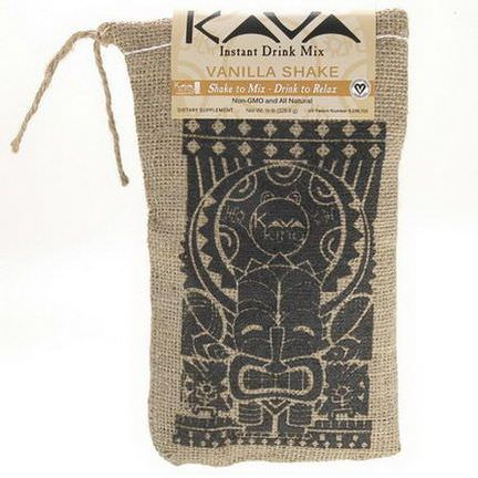 Kava King Products Inc, Instant Drink Mix, Vanilla Shake 226.8g