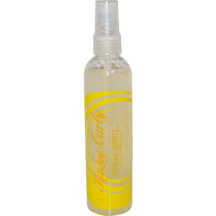 Kinky-Curly, Spiral Spritz, Natural Styling Serum 236ml