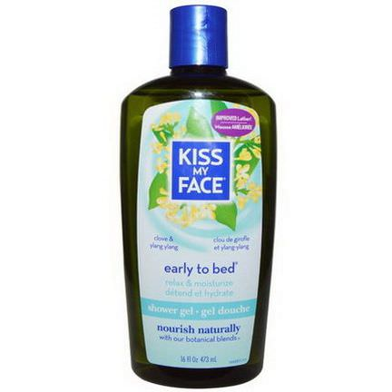 Kiss My Face, Early to Bed, Shower Gel, Clove&Ylang Ylang 473ml