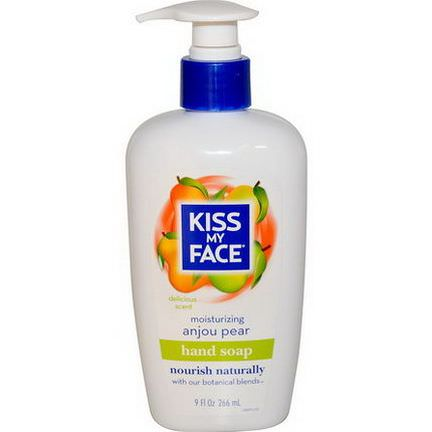 Kiss My Face, Moisturizing Hand Soap, Anjou Pear 266ml