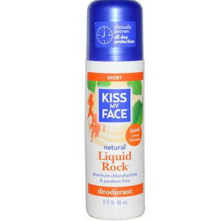Kiss My Face, Natural Liquid Rock Deodorant, Sport 88ml