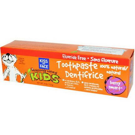 Kiss My Face, Obsessively Natural Kids, Toothpaste, Berry Smart 113g