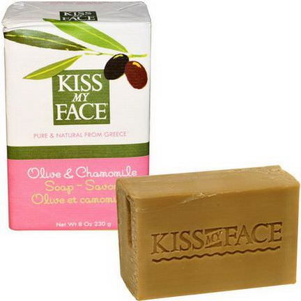 Kiss My Face, Olive&Chamomile Soap Bar 230g