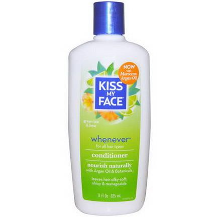 Kiss My Face, Whenever Conditioner, Green Tea&Lime 325ml