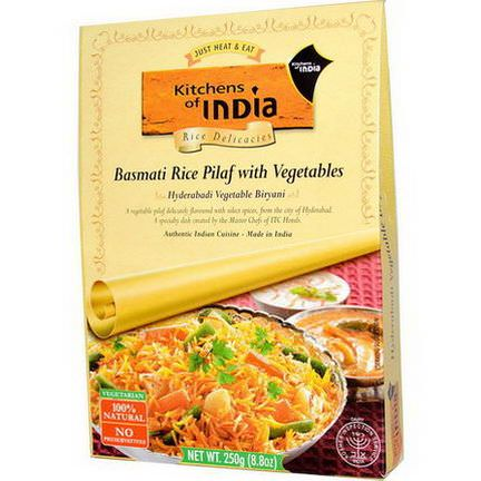 Kitchens of India, Rice Delicacies, Basmati Rice Pilaf with Vegetables 250g