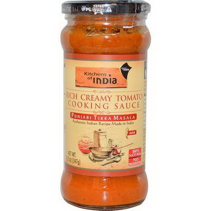 Kitchens of India, Rich Creamy Tomato Cooking Sauce, Mild 347g