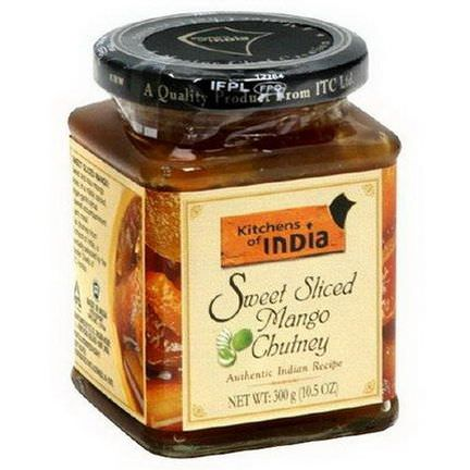 Kitchens of India, Sweet Sliced Mango Chutney 300g