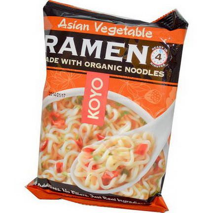 Koyo Natural Foods, Asian Vegetable Ramen 60g