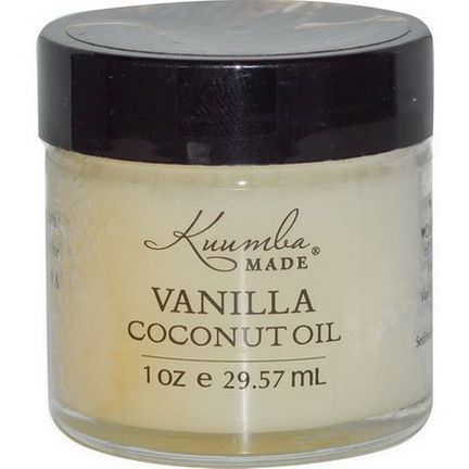 Kuumba Made, Vanilla Coconut Oil 29.57ml