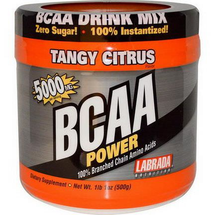 Labrada Nutrition, BCAA Power, Tangy Citrus 500g