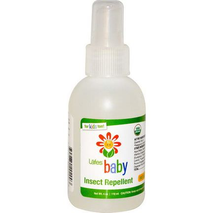 Lafe's Natural Body Care, Baby, Insect Repellent 118ml