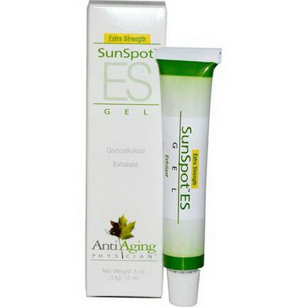 Lane Labs, AntiAging Physician, SunSpot ES Gel, Extra Strength 14g
