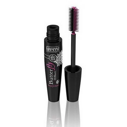 Lavera Naturkosmetic, Butterfly Effect Mascara, Beautiful Black, 11ml