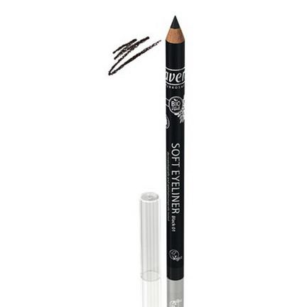 Lavera Naturkosmetic, Soft Eyeliner, Black 01.04 oz