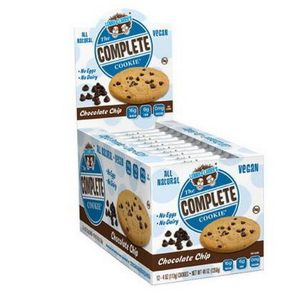 Lenny&Larry's, The Complete Cookie, Chocolate Chip, 12 Cookies 113g Each