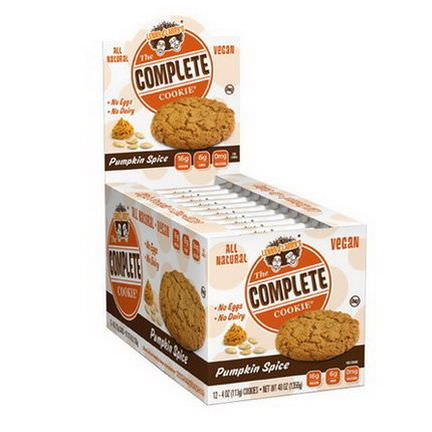 Lenny&Larry's, The Complete Cookie, Pumpkin Spice, 12 Cookies 113g Each