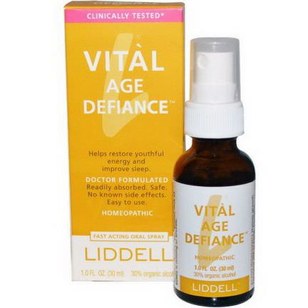 Liddell, Vital Age Defiance, Oral Spray 30ml