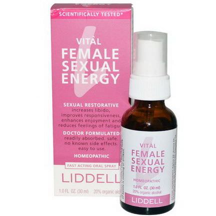 Liddell, Vital, Female Sexual Energy, Fast Acting Oral Spray 30ml