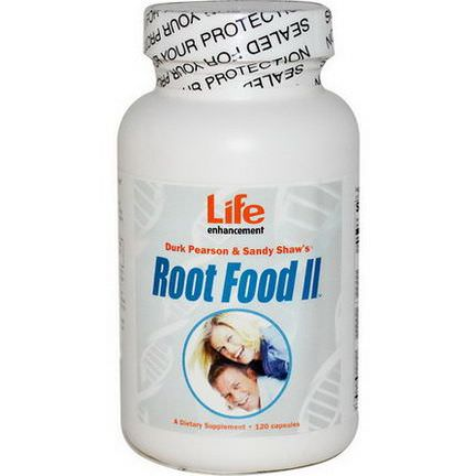 Life Enhancement, Root Food II, 120 Capsules