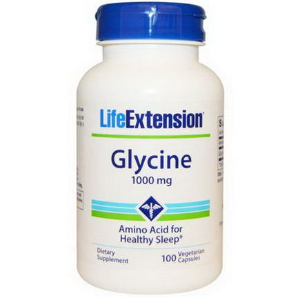 Life Extension, Glycine, 1000mg, 100 Veggie Caps