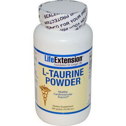 Life Extension, L-Taurine Powder 300g