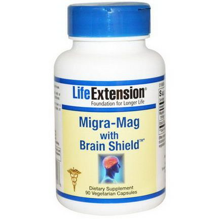 Life Extension, Migra-Mag with Brain Shield