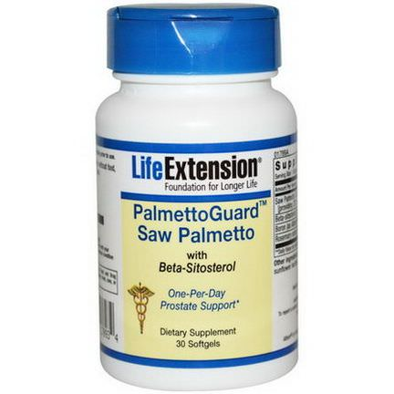Life Extension, PalmettoGuard Saw Palmetto, 30 Softgels