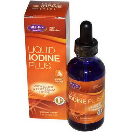 Life Flo Health, Liquid Iodine Plus 59ml