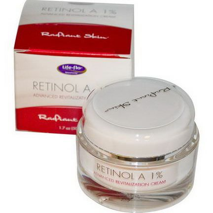 Life Flo Health, Retinol A 1%, Advanced Revitalization Cream 50ml