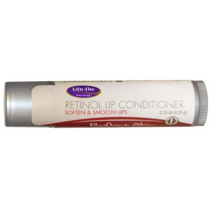 Life Flo Health, Retinol Lip Conditioner, Radiant Skin 4.25g
