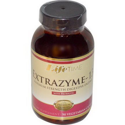 Life Time, Extrazyme-13, with Probiotic, 90 Veggie Caps