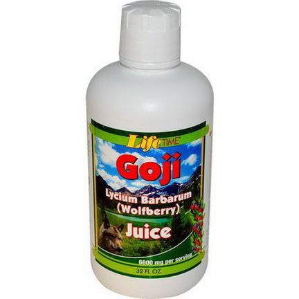 Life Time, Goji Juice Wolfberry, 32 fl oz