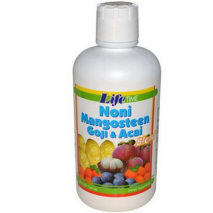 Life Time, Noni Mangosteen Goji&Acai Blend 946ml