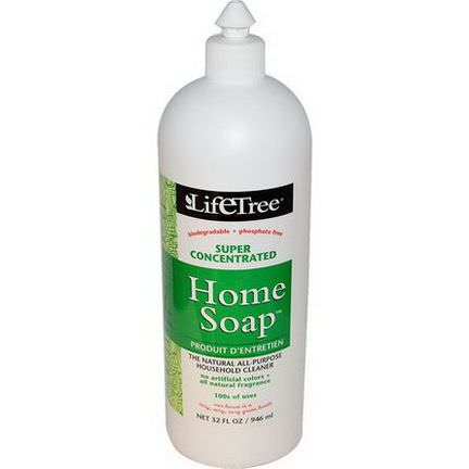Life Tree, Home Soap, The Natural All-Purpose Household Cleaner 946ml