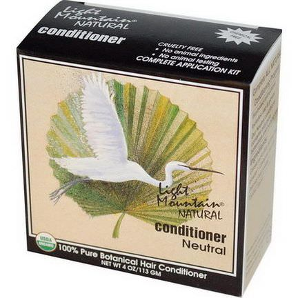 Light Mountain, Natural Conditioner, Neutral 113g