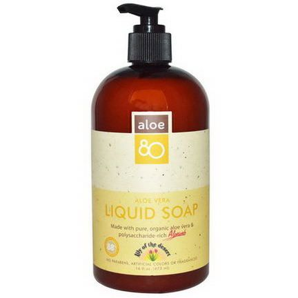 Lily of the Desert, Aloe 80, Aloe Vera Liquid Soap 473ml