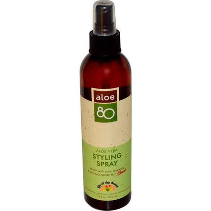 Lily of the Desert, Aloe 80, Aloe Vera Styling Spray 236ml