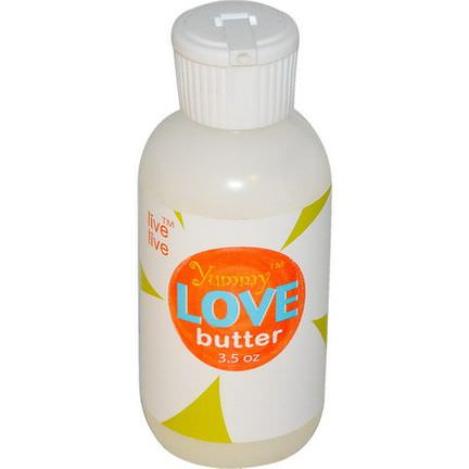 Live Live&Organic, Yummy Love Butter, 3.5 oz