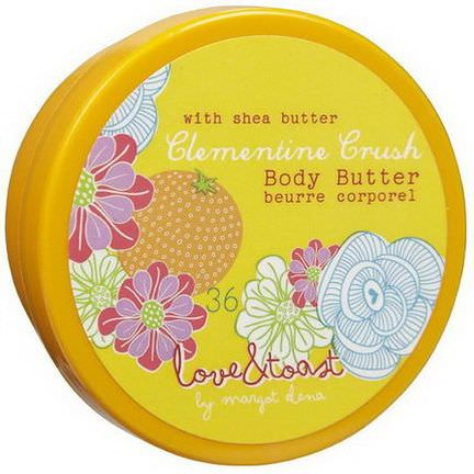 Love&Toast by Margot Elena, Body Butter, Clementine Crush 56g