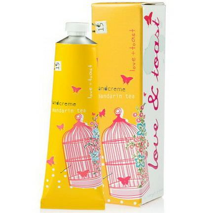 Love&Toast by Margot Elena, Hand Creme, Mandarin Tea 35g