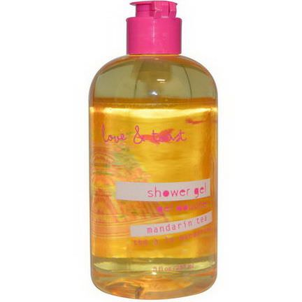 Love&Toast by Margot Elena, Shower Gel, Mandarin Tea 237ml