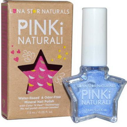 Luna Star Naturals, Pinki Naturali, Mineral Nail Polish, Little Rock 7.5ml