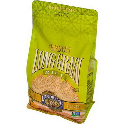 Lundberg, Brown Long Grain Rice 907g