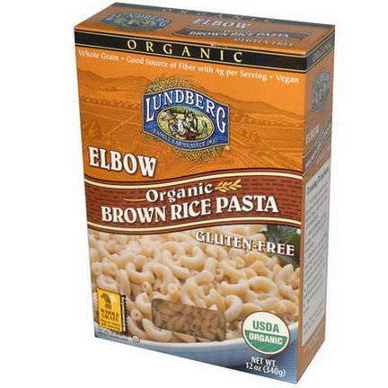 Lundberg, Elbow, Brown Rice Pasta 340g