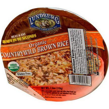 Lundberg, Organic, Countrywild Brown Rice 210g